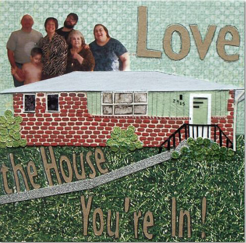melissa kolstad collage for retro renovation love the house you're in