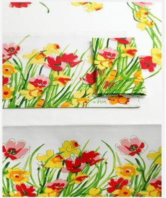 vintage-vera-daffodils-tablecloth