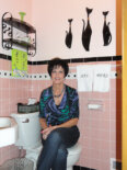 adding a pink bathroom to your house
