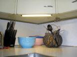 factory installed undercabinet lighting in kate mckinnons kitchen