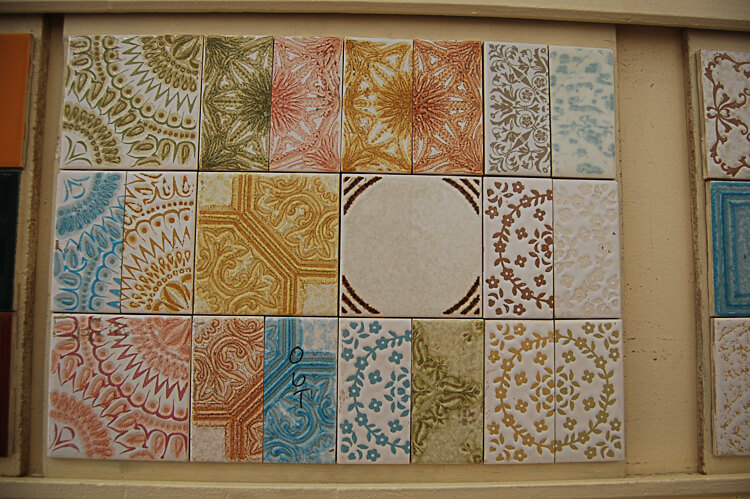 new old stock NOS vintage tile from world of tile