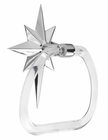 atomic star towel ring from rejuvenation