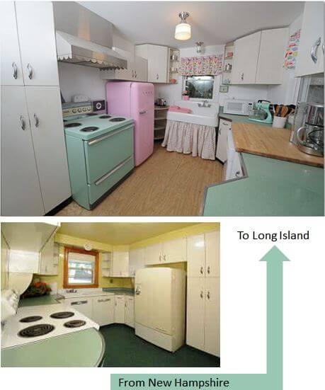 create a vintage kitchen