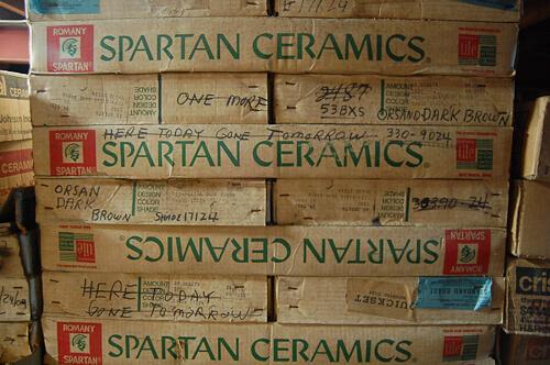 romany spartan tile