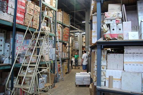 tile warehouse for NOS vintage tile world of tile