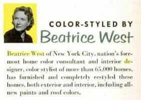 beatrice west designer