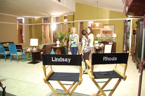 Rhoda, Lisa LaPorta, and Lindsay