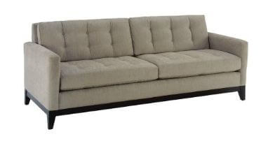 modern tufted sofa from lazar industries