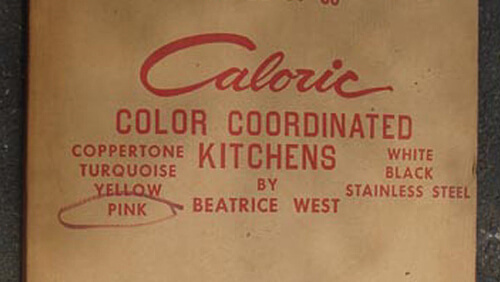 Caloric Color Coordinated Kitchens by Beatrice West