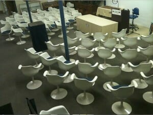 krueger tulip chairs