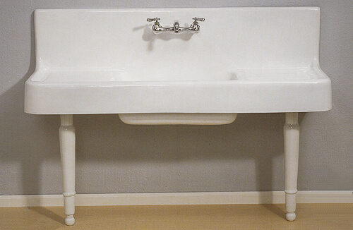 hung drainboard kitchen farmhouse sink the clarion sink manufactured