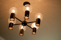 vintage lightolier ceiling light