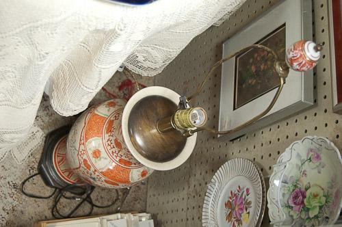 vintage oriental lamp