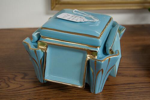 vintage butter pat holder