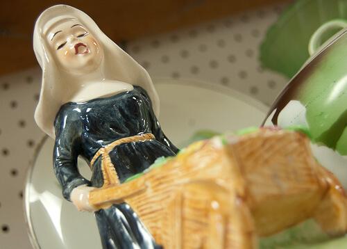 fun ceramic figurine