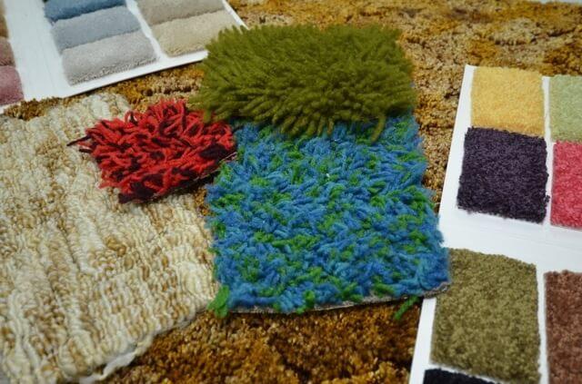 Retro Carpet Swatches
