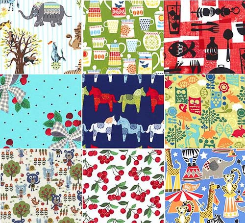 New Retro Fabrics From Michael Miller