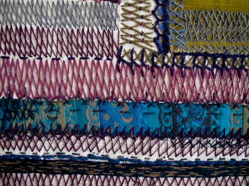 vintage textile detail