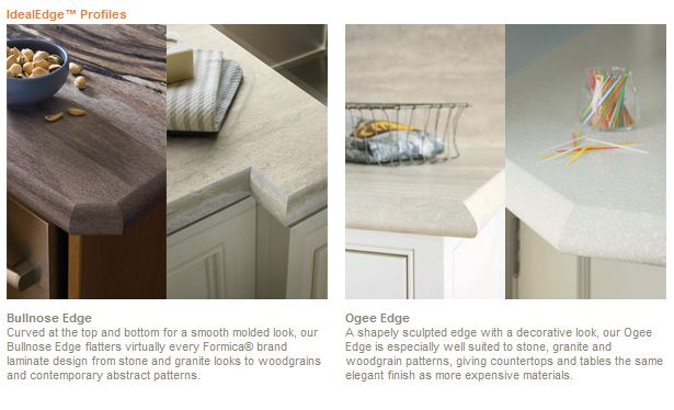 Only Your Contractor Knows For Sure Formica Ideal Edge