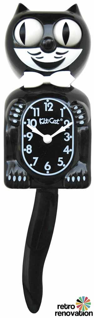 Kit cat clock turns 80 a classic collectible still made - Kitty cat clock ...