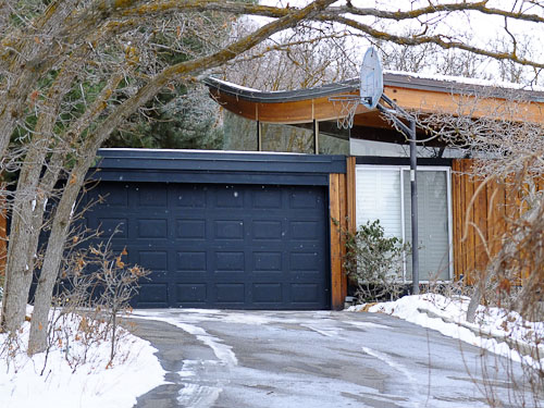 notice the roofline. 74 midcentury modern houses in Salt Lake City   driving tour with