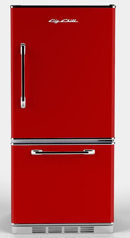 Where to buy red refrigerators