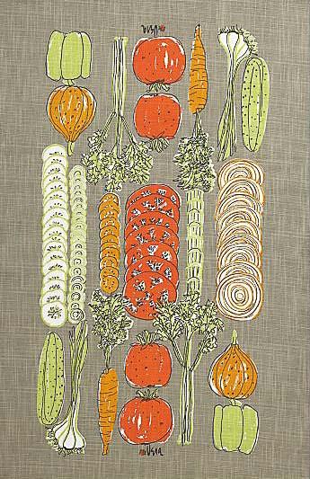 vera neumann dish towel