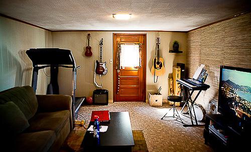 small basement window treatments