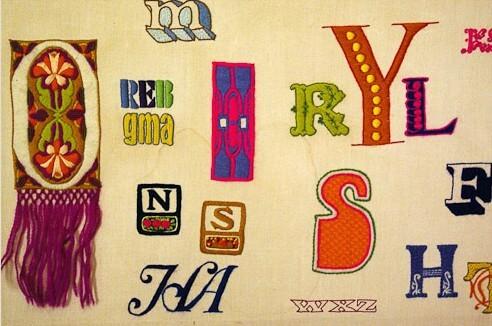 erica wilson alphabet