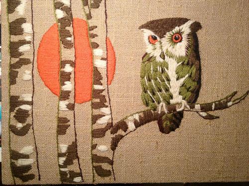 erica wilson owl