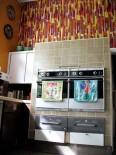 midcentury modern kitchen in north carolia