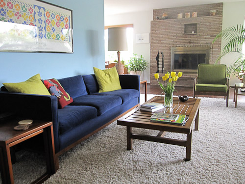 janes midcentury modern living room photo