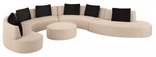 Half Circle Sofa Sectional picture on 11 round sofas in midcentury or postmodern style with Half Circle Sofa Sectional, sofa b94ba926012fa6393e2208eaad61f4c3