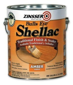amber shellac