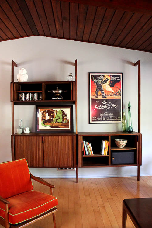 Wall Unit Designs For Small Room: Barzilay Multispan Vertical Storage System