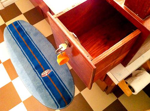 locking medicine drawer