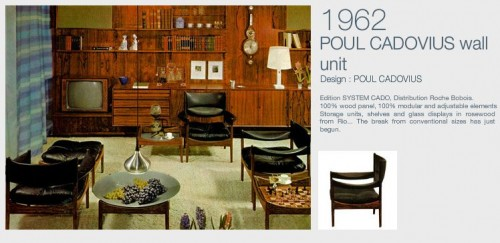Poul Cadovius And Cado Wall Units History And Collecting