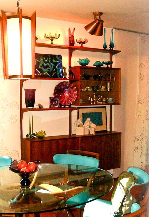 vintage cado wall unit