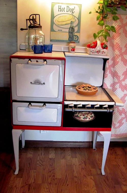 vintage sunray stove