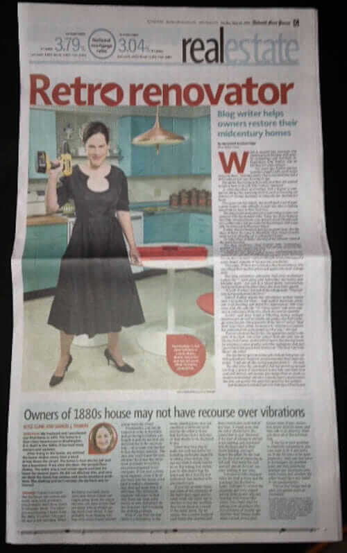 retro renovation in the detroit free press