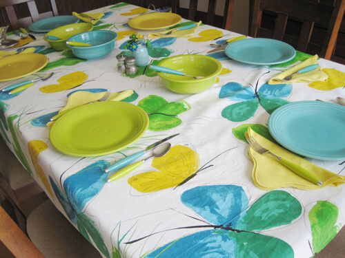 Fiesta and Vera Table setting
