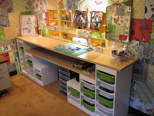 affordable craft room storage