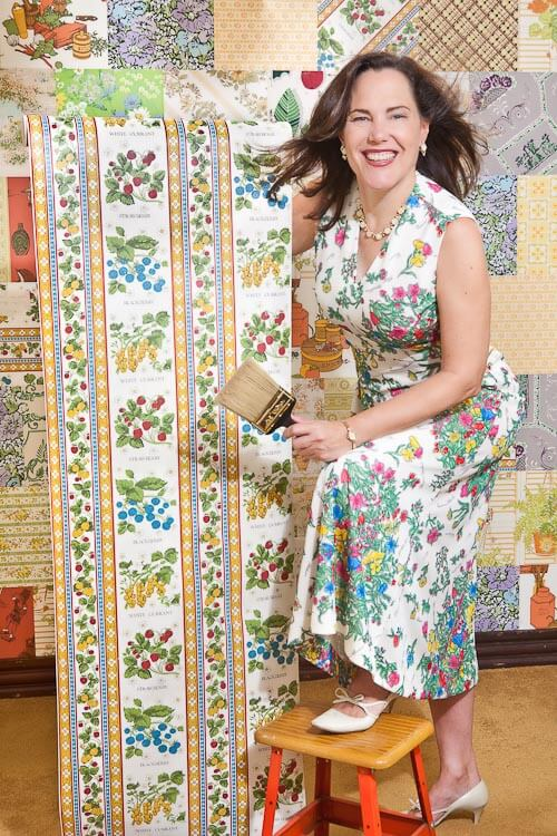 Pam Kueber Retro Renvation vintage wallpaper