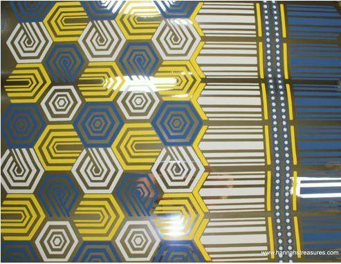 metallic wallpaper from hannahs treasures