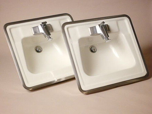 rare 1964 vintage bathroom sinks and faucets from truman newberry