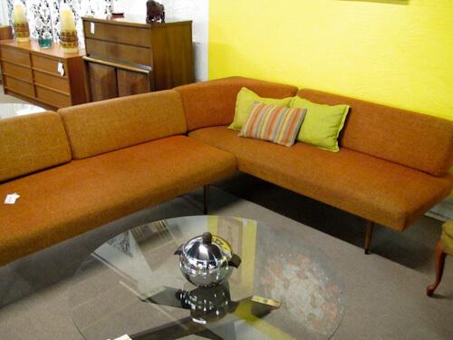 vintage sectional sofa