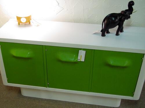 broyhill plastic furniture lime green
