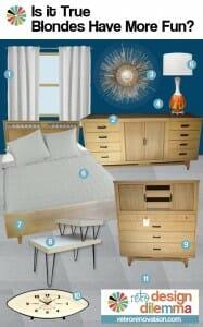 retro modern bedroom design ideas