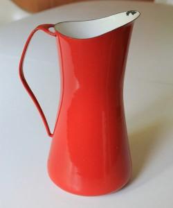 Dansk Kobenstyle red pitcher