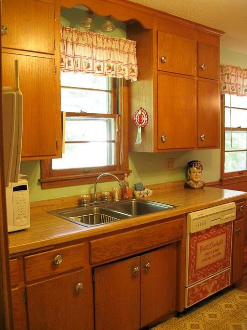 Kathy Makes A Custom Dishwasher Panel From A Vintage Betty